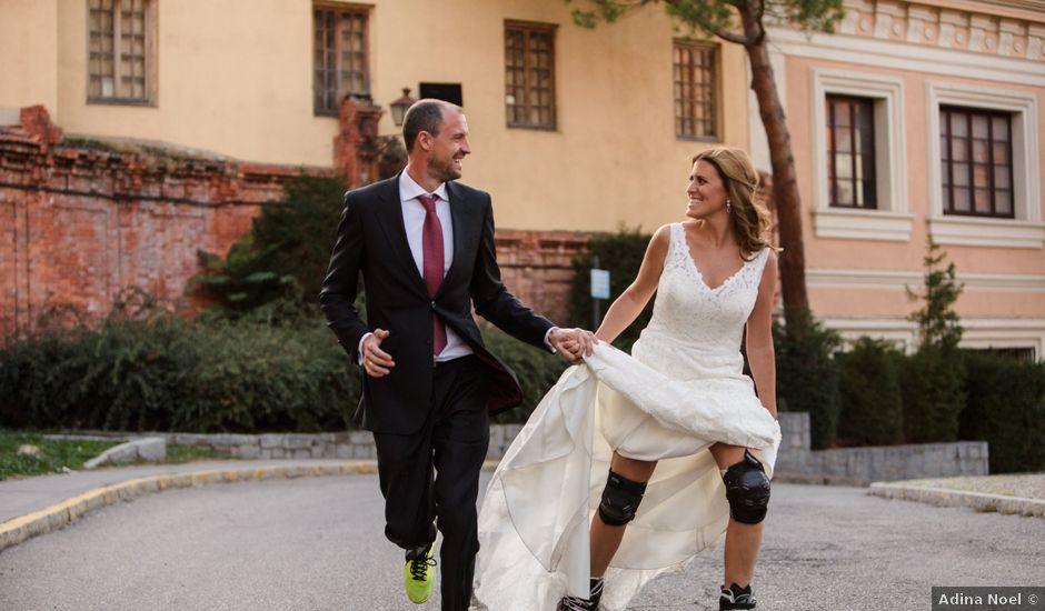 La boda de Julio y Isabel en Segovia, Lugo