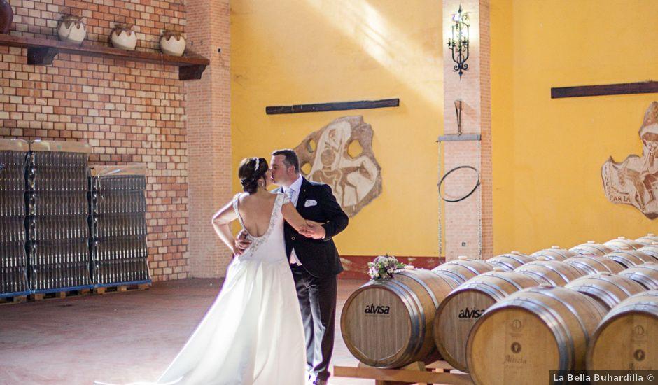 La boda de Vicente y Natalia en Tomelloso, Ciudad Real