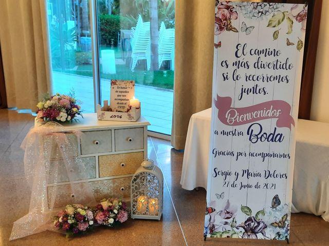 La boda de Sergio y María Dolores  en La Palma, Murcia 2