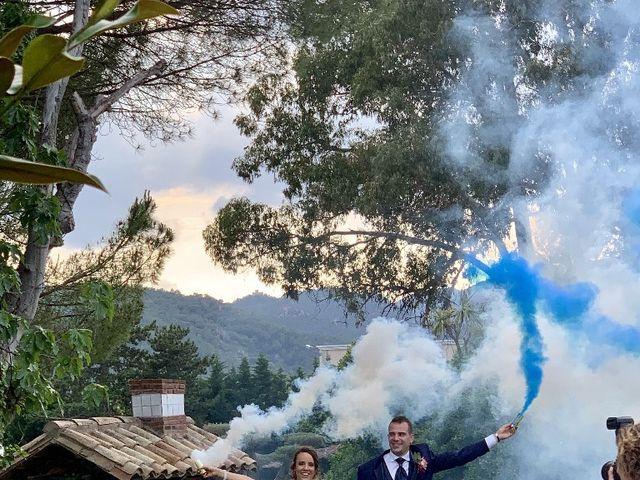 La boda de Javi  y Judith  en Santa Coloma De Farners, Girona 7