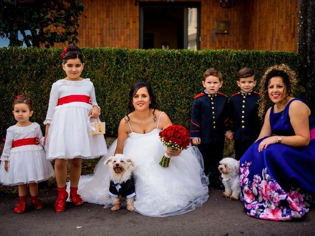 La boda de Alberto y Lorena en Valga (Rajoy), Pontevedra 1