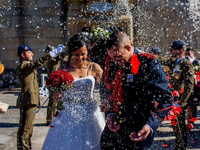 La boda de Alberto y Lorena en Valga (Rajoy), Pontevedra 7