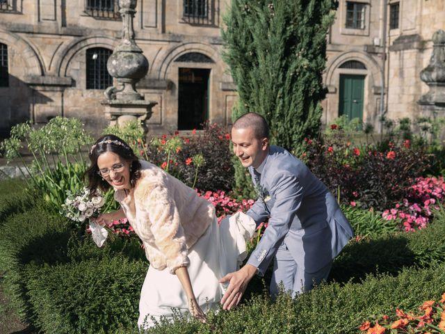 La boda de Diogo y Joana en Santiago De Compostela, A Coruña 16