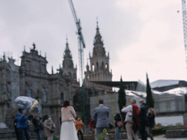 La boda de Diogo y Joana en Santiago De Compostela, A Coruña 11