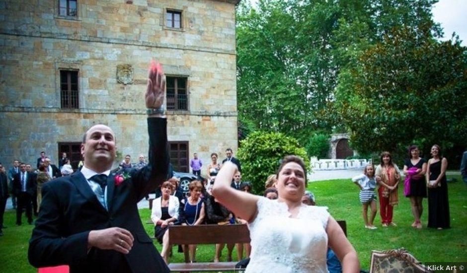 La boda de Miguel y Amaya en Castañeda, Cantabria