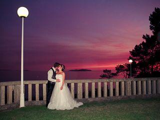 La boda de Alexandra y Carlin