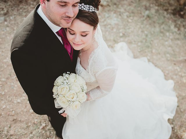 La boda de Jose Antonio y Alba María en Escalonilla, Toledo 1