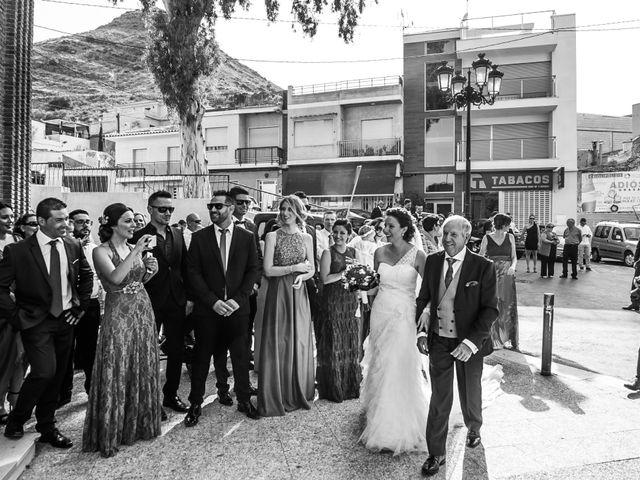 La boda de Ruben y Estefania en El Raal, Murcia 13