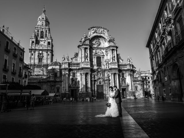 La boda de Ruben y Estefania en El Raal, Murcia 16