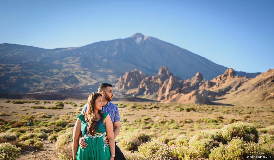 La boda de Sawan y Makena en Playa De Las Americas, Santa Cruz de Tenerife