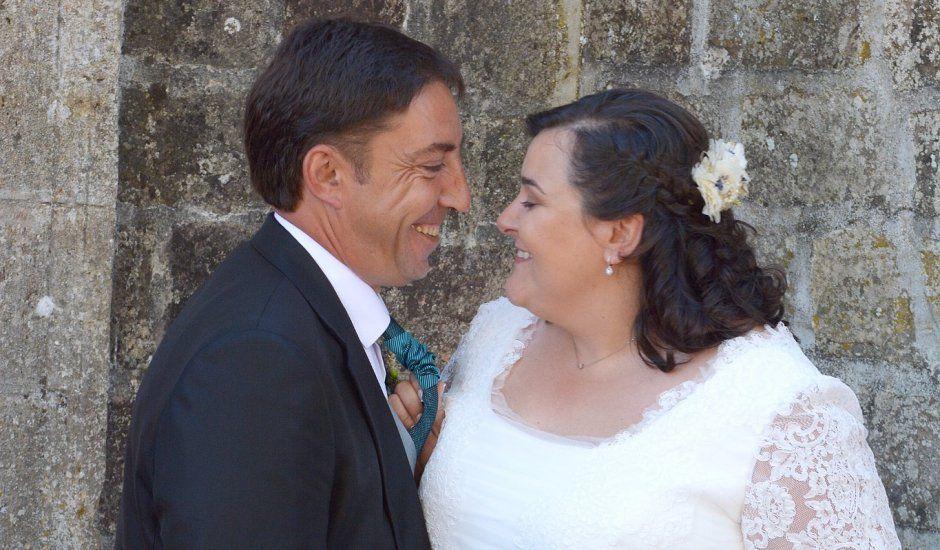 La boda de Fernando Viñas y Carmen Santamaría en Barbadillo De Herreros, Burgos