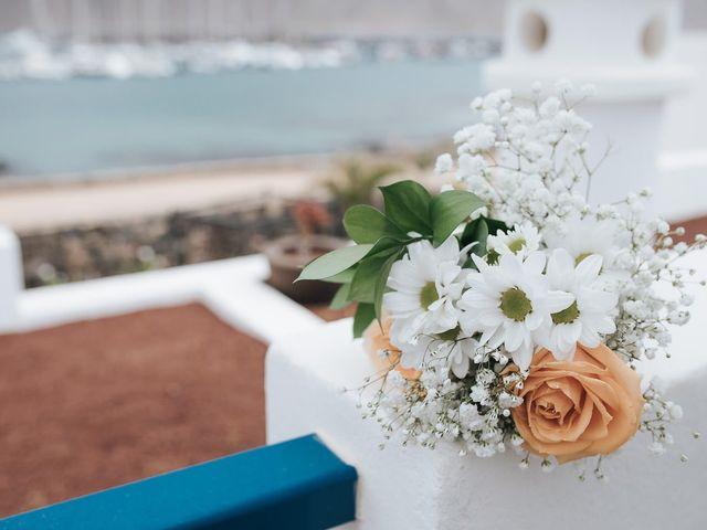 La boda de Octavio y Fayna en Caleta De Sebo (Isla Graciosa), Las Palmas 21