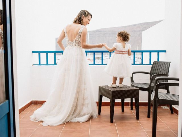 La boda de Octavio y Fayna en Caleta De Sebo (Isla Graciosa), Las Palmas 38