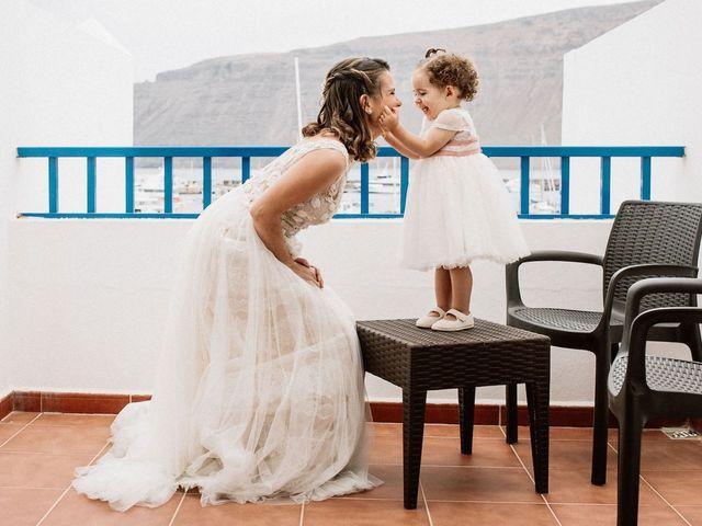 La boda de Octavio y Fayna en Caleta De Sebo (Isla Graciosa), Las Palmas 39