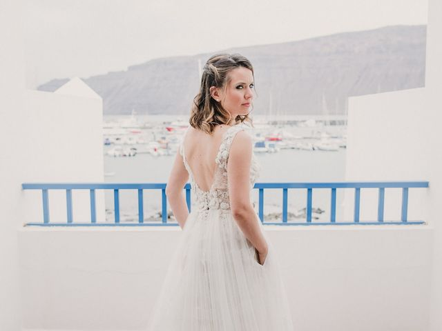 La boda de Octavio y Fayna en Caleta De Sebo (Isla Graciosa), Las Palmas 40