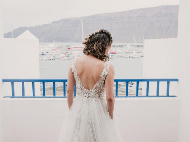 La boda de Octavio y Fayna en Caleta De Sebo (Isla Graciosa), Las Palmas 41