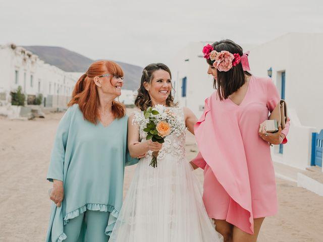 La boda de Octavio y Fayna en Caleta De Sebo (Isla Graciosa), Las Palmas 50