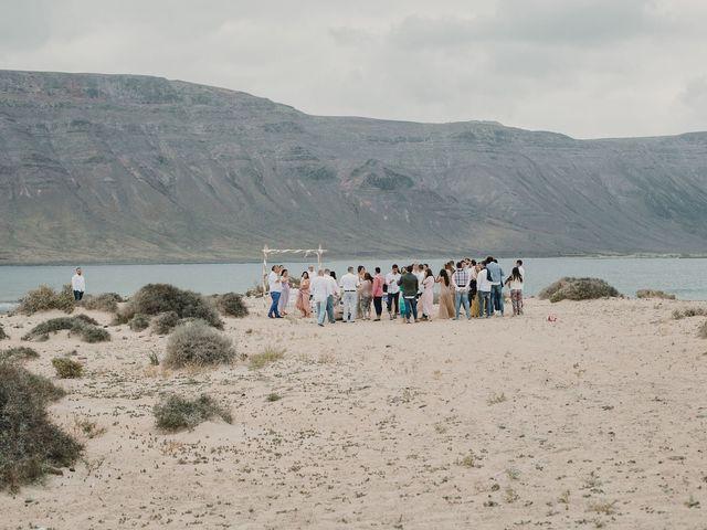 La boda de Octavio y Fayna en Caleta De Sebo (Isla Graciosa), Las Palmas 53