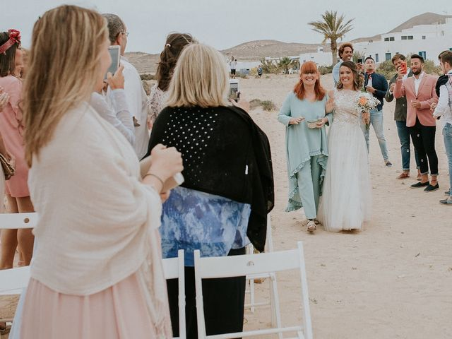 La boda de Octavio y Fayna en Caleta De Sebo (Isla Graciosa), Las Palmas 56