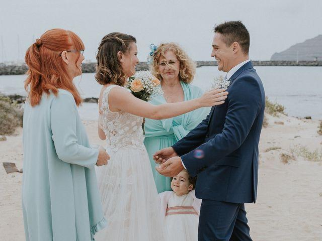 La boda de Octavio y Fayna en Caleta De Sebo (Isla Graciosa), Las Palmas 57