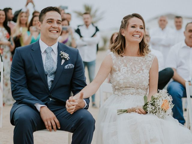 La boda de Octavio y Fayna en Caleta De Sebo (Isla Graciosa), Las Palmas 58
