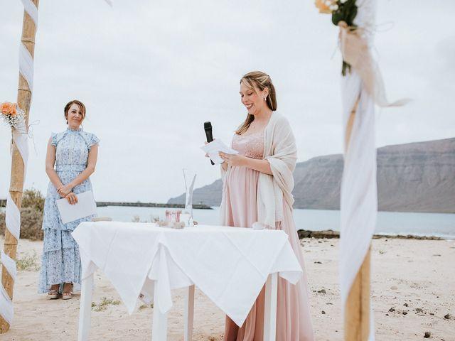 La boda de Octavio y Fayna en Caleta De Sebo (Isla Graciosa), Las Palmas 60