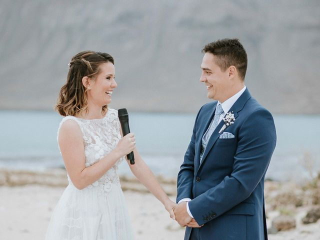 La boda de Octavio y Fayna en Caleta De Sebo (Isla Graciosa), Las Palmas 64