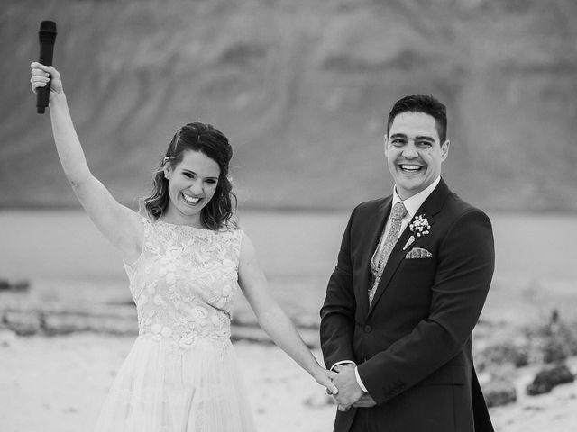 La boda de Octavio y Fayna en Caleta De Sebo (Isla Graciosa), Las Palmas 65