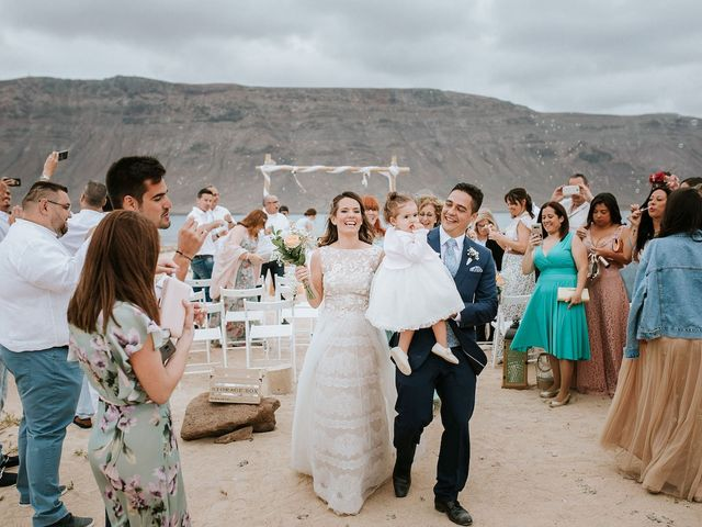 La boda de Octavio y Fayna en Caleta De Sebo (Isla Graciosa), Las Palmas 67