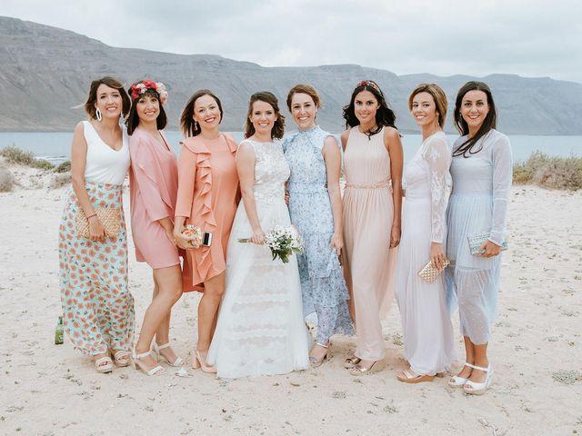 La boda de Octavio y Fayna en Caleta De Sebo (Isla Graciosa), Las Palmas 71