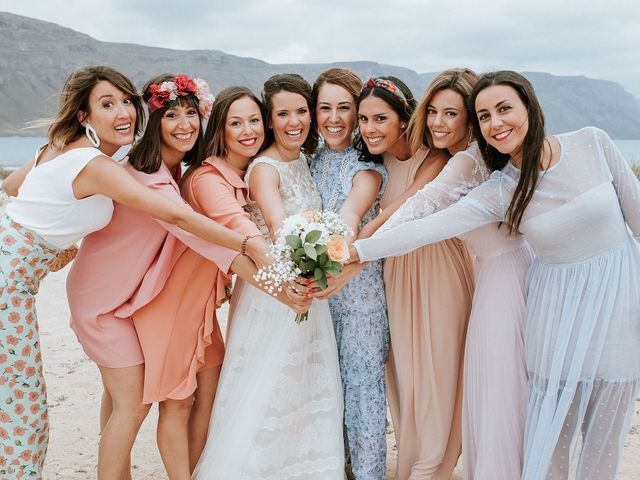 La boda de Octavio y Fayna en Caleta De Sebo (Isla Graciosa), Las Palmas 72