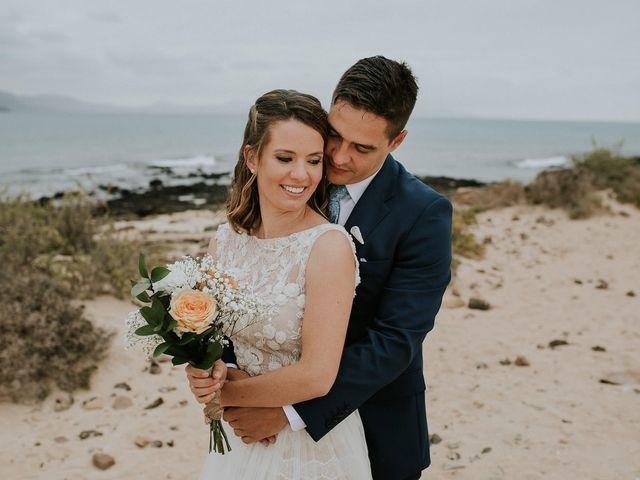 La boda de Octavio y Fayna en Caleta De Sebo (Isla Graciosa), Las Palmas 73