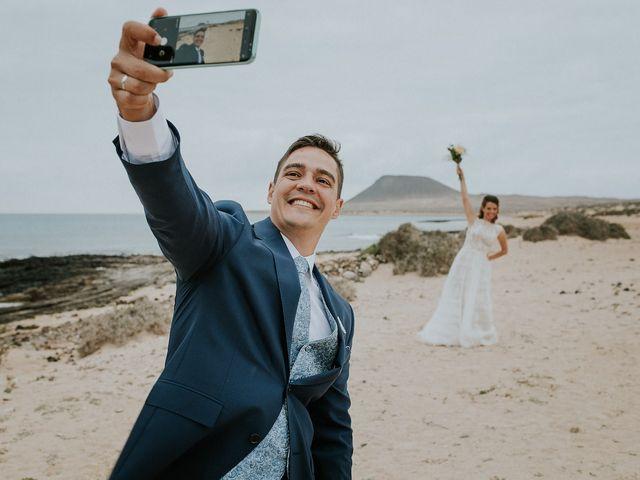 La boda de Octavio y Fayna en Caleta De Sebo (Isla Graciosa), Las Palmas 78