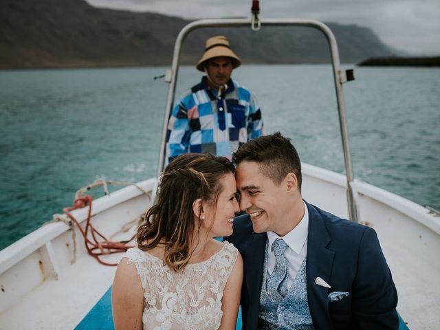 La boda de Octavio y Fayna en Caleta De Sebo (Isla Graciosa), Las Palmas 85