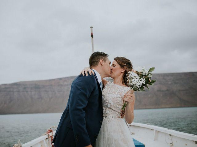 La boda de Octavio y Fayna en Caleta De Sebo (Isla Graciosa), Las Palmas 86
