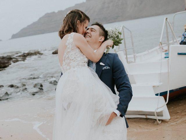 La boda de Octavio y Fayna en Caleta De Sebo (Isla Graciosa), Las Palmas 87