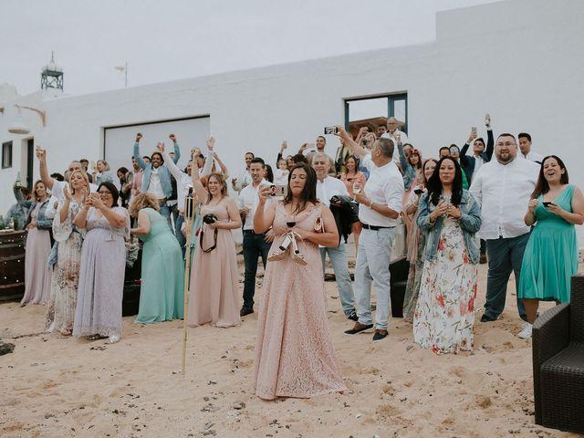La boda de Octavio y Fayna en Caleta De Sebo (Isla Graciosa), Las Palmas 88