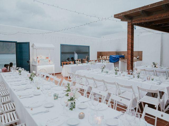 La boda de Octavio y Fayna en Caleta De Sebo (Isla Graciosa), Las Palmas 90
