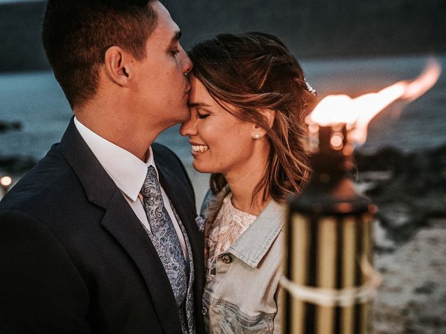 La boda de Octavio y Fayna en Caleta De Sebo (Isla Graciosa), Las Palmas 91