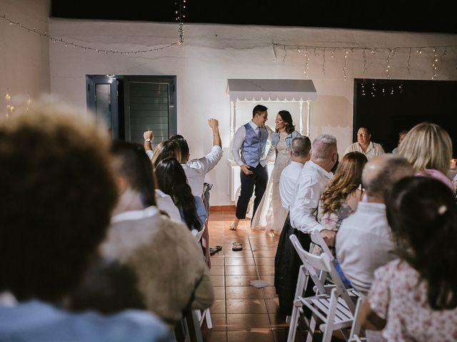 La boda de Octavio y Fayna en Caleta De Sebo (Isla Graciosa), Las Palmas 102