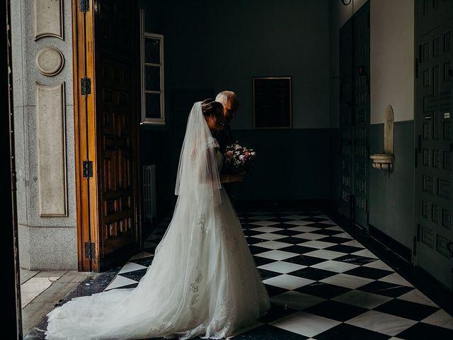 La boda de Lucas y Nadja en Madrid, Madrid 1