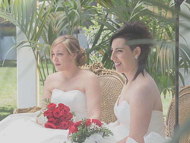 La boda de Sara y Amets en Castejon, Navarra 8
