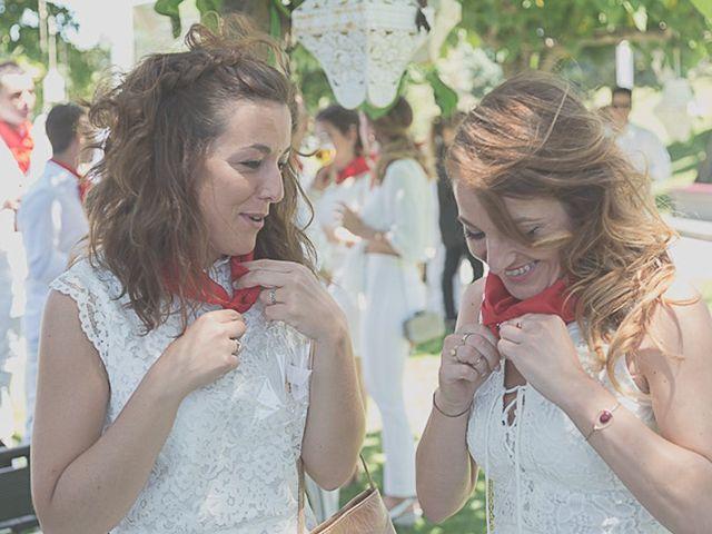 La boda de Sara y Amets en Castejon, Navarra 12