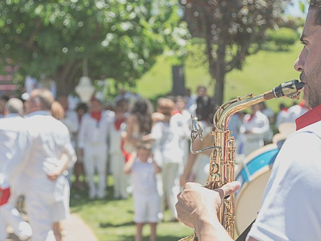 La boda de Sara y Amets en Castejon, Navarra 13