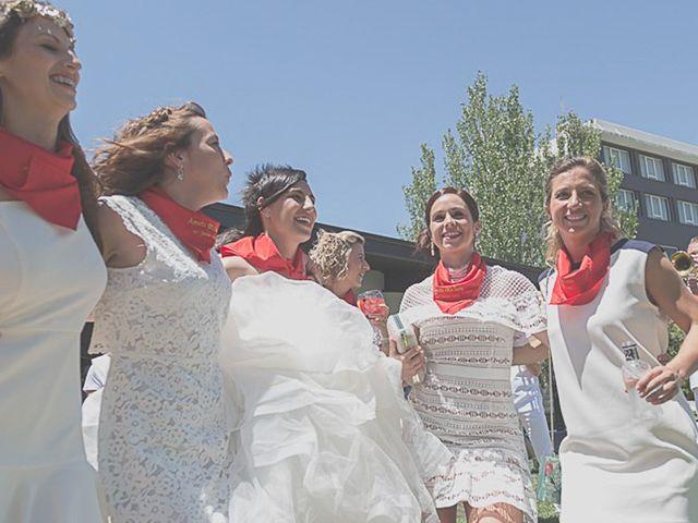 La boda de Sara y Amets en Castejon, Navarra 14
