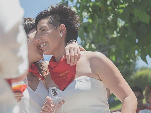 La boda de Sara y Amets en Castejon, Navarra 15