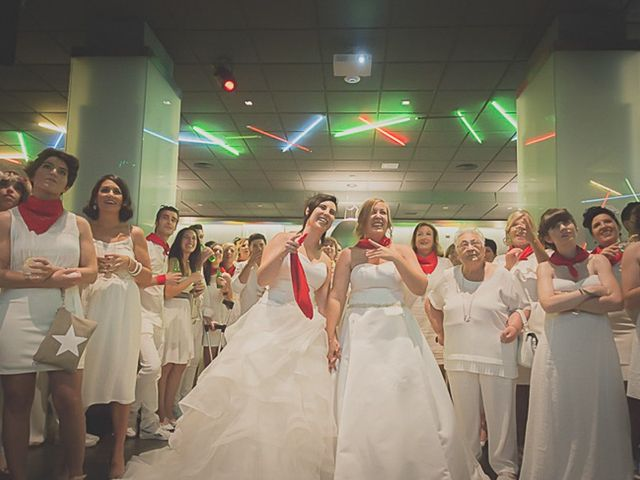 La boda de Sara y Amets en Castejon, Navarra 18