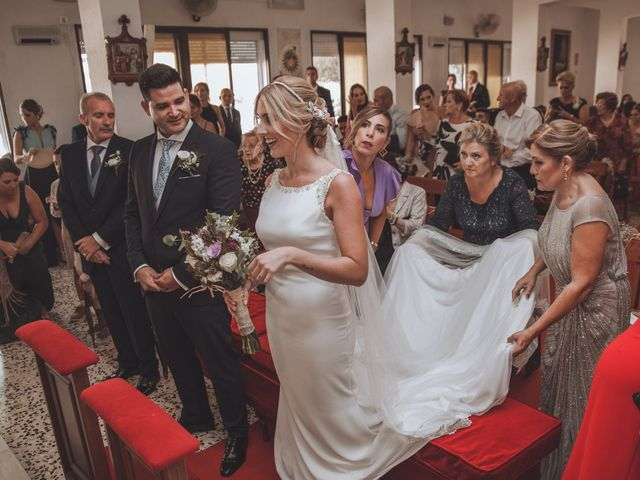 La boda de Óscar y María del Mar en Velez Malaga, Málaga 28