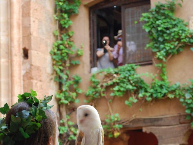 La boda de Héctor y Saray en Ayllon, Segovia 1