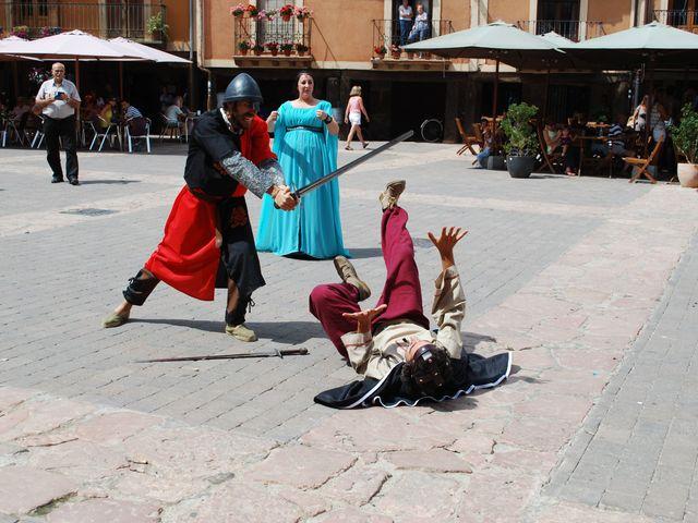 La boda de Héctor y Saray en Ayllon, Segovia 12
